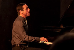 picture of jon wade on piano