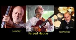 Photo of Fareed Haque, Paul Wertico, Larry Gray