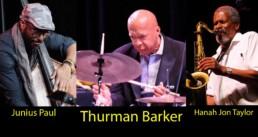 Photo of Thurman Barker, Junius Paul & Hanah Jon Taylor